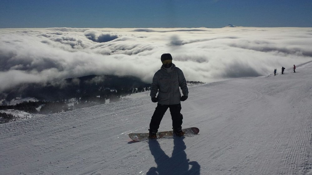 top of palmer lift. great weekend.