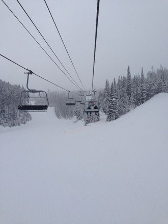 Awesome day. Not a single thing to complain about. Knee deep all day pretty much everywhere.