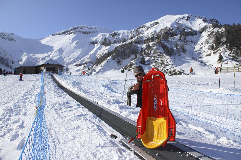 Espace Ludoglyss au Mont Dore - © Office de Tourisme Massif du Sancy