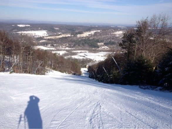 Ski conditions excellent.  Can't wAit to come back when the whole mountain is open