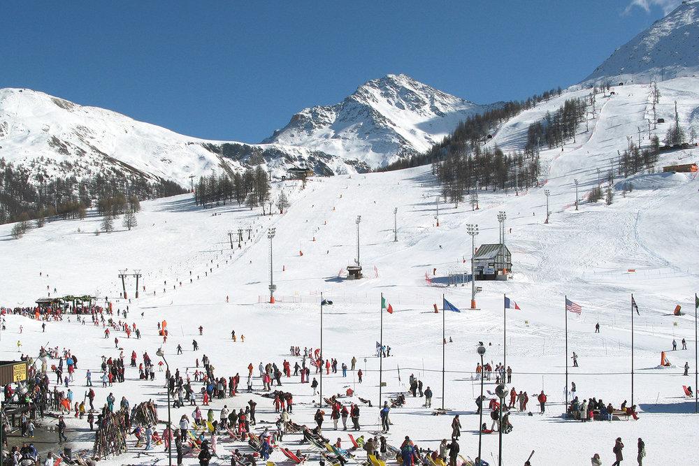 Front de neige de Sestrières - © Sestriere Vialattea