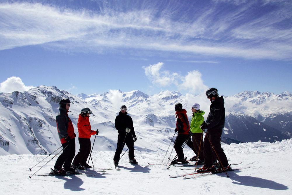 Ski à Nax/Mont-Noble - © Mont-Noble Tourisme