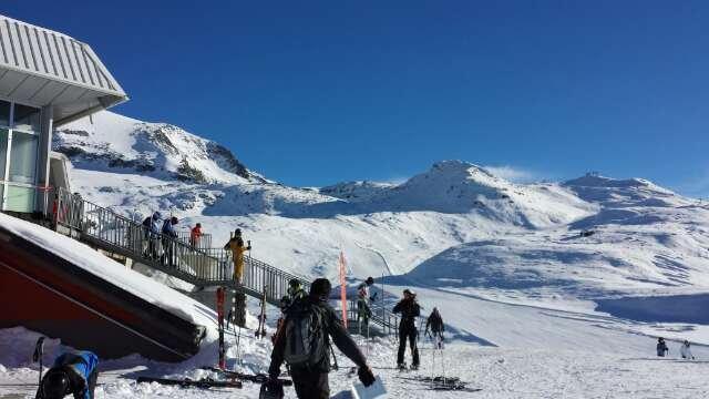 great snow great skiing warm sunshine