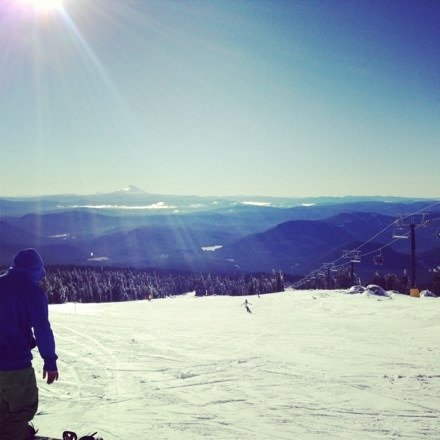 Awesome day! It's hard though and my knees are sore