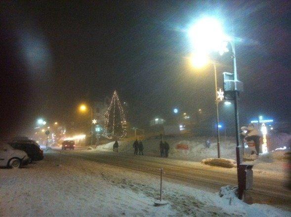 Endlich schnee