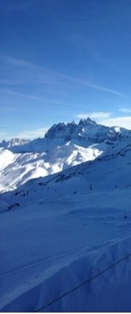 Great skiing Great powder Great weather.