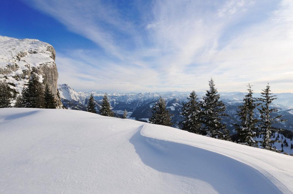 Traumhafter Ausblick auf der Skitour in Reit im Winkl - © Norbert Eisele-Hein