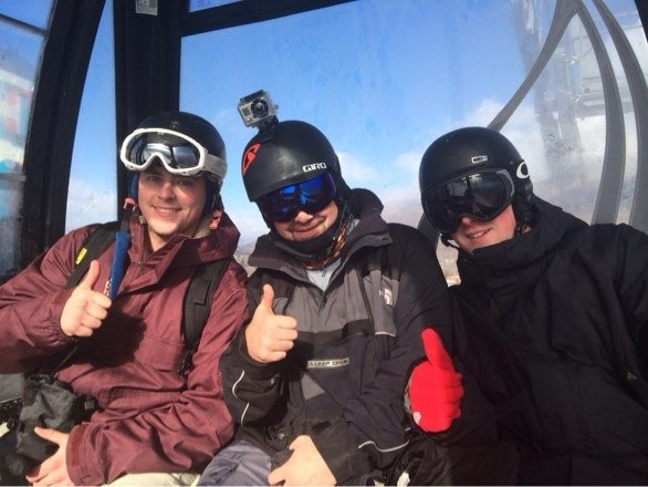We all give aspen mountain thumbs up !! Ajax was where it was at ...