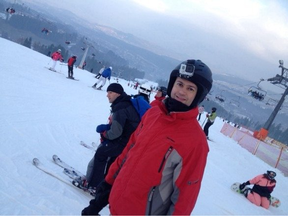 Great skiing considering little snow fall lately. And great fireworks New Year's Eve party.