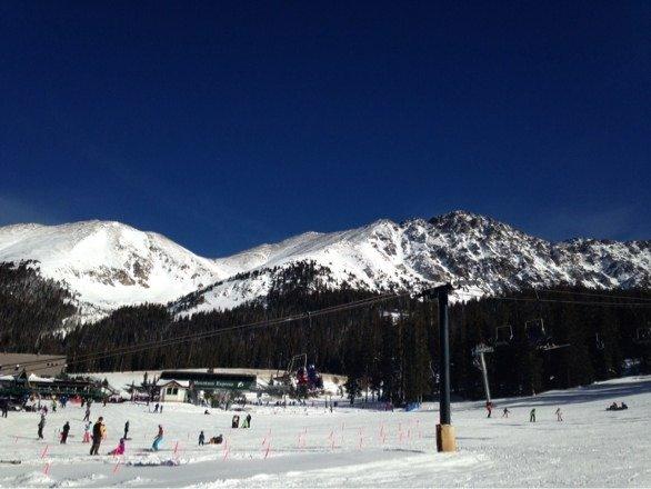 Beautiful day at A-Basin!!!