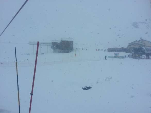 il neige a orelle déjà 10 cm