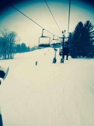 great time on thursday. little windy but had a blast. perfect snow!