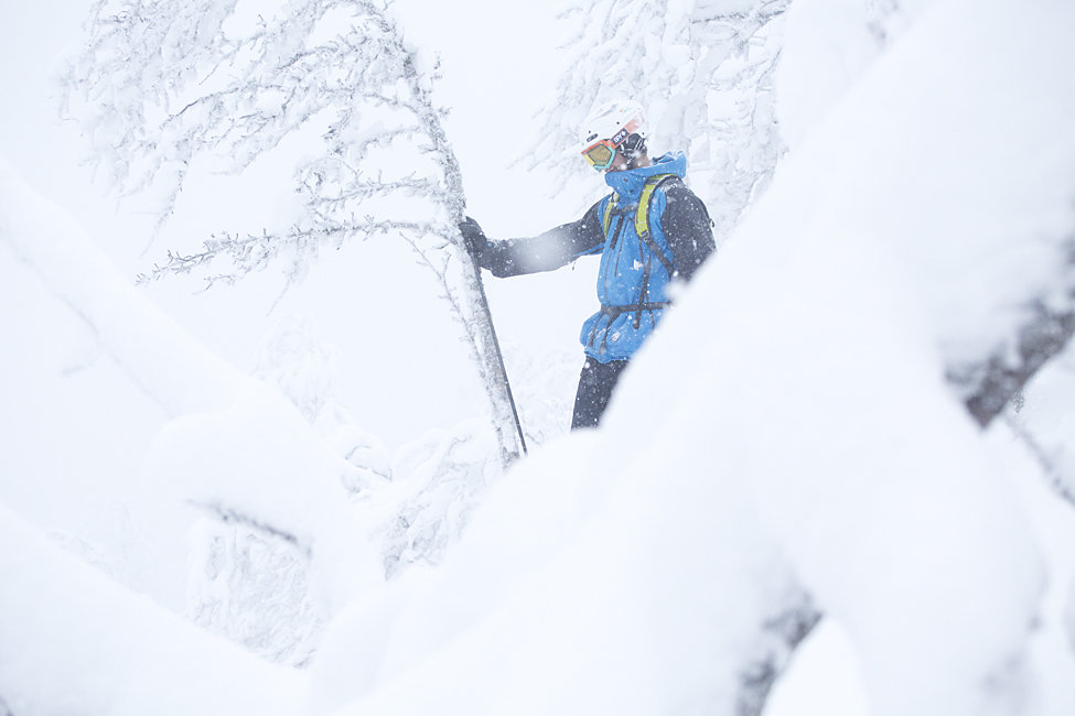 Det fortsetter å snø i Hemsedal. - © Kalle Hägglund