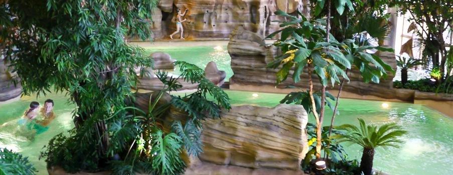Aquariaz –vodný park v Avoriaz - © Avoriaz Tourisme