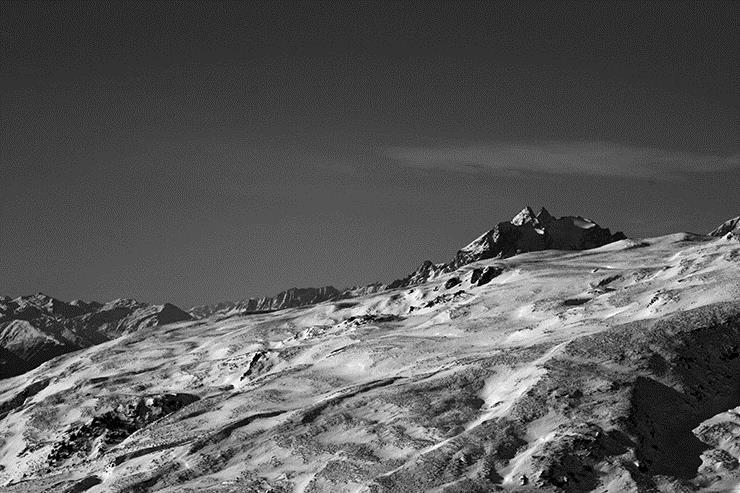 Zauberhaft Bergformationen vom Gletscher geprägt - © Stefan Drexl