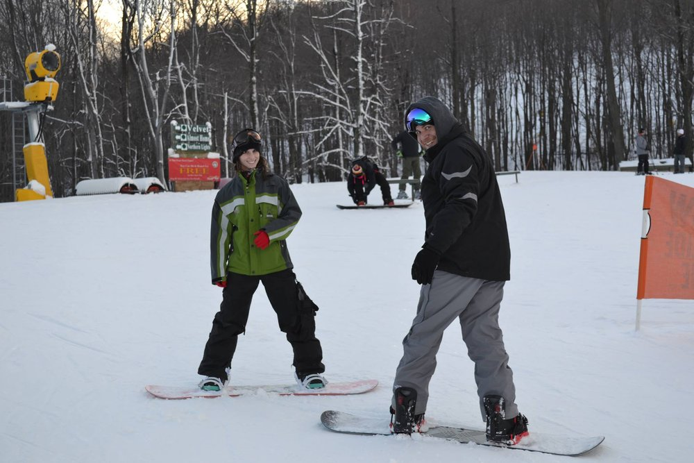 First-timers, get after it while the gettin' is good. - © Whitetail Resort