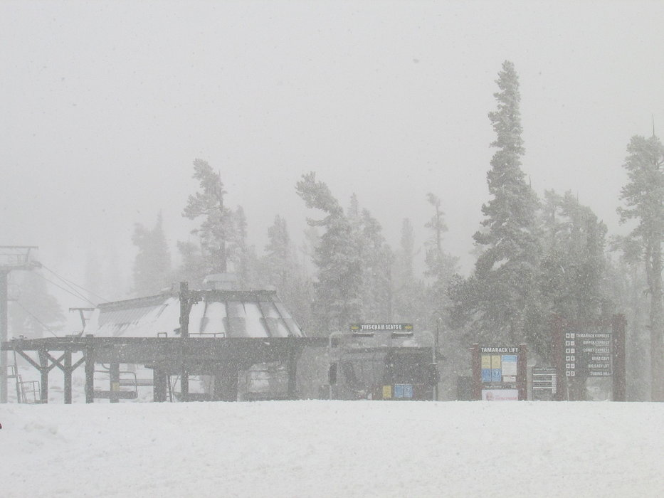 Heavenly will open on Friday, November 22 with the Gondola and Tamarack serving 14 acres and a mile and a half of skiable terrain.  - © Heavenly Ski Resort