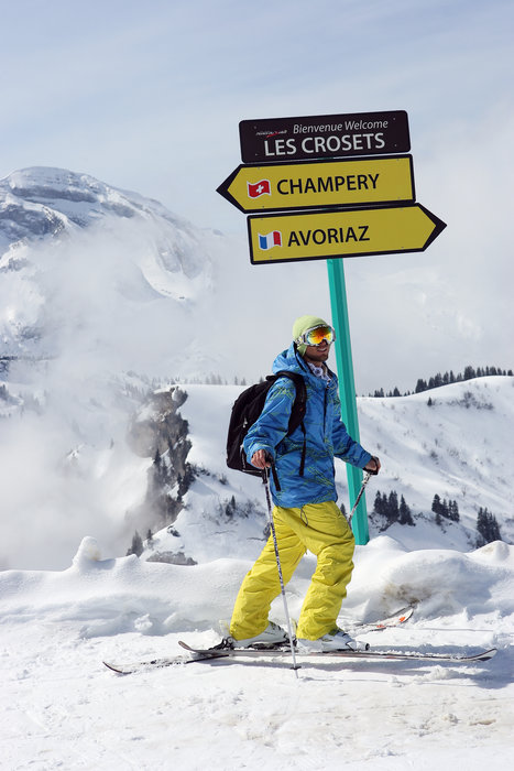 Les férus de ski trouveront chaussures à leur pied en choisissant l'un des grands domaines skiables français... - © Nicolas Joly