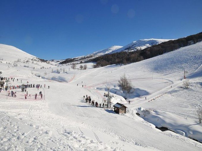 Skiing Val d'Ese in Corsica, France - © Commune de Bastelica