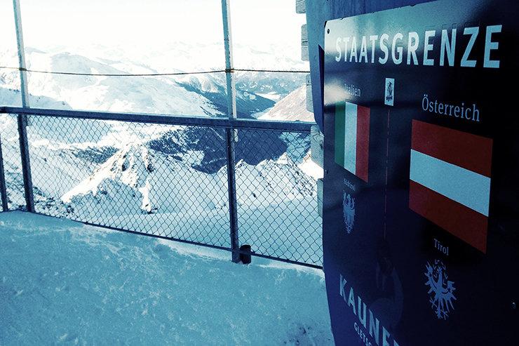 Kaunertaler Gletscher: Der jüngst Gletscher Tirols liegt am Dreiländereck Österreich, Italien Schweiz - © Stefan Drexl