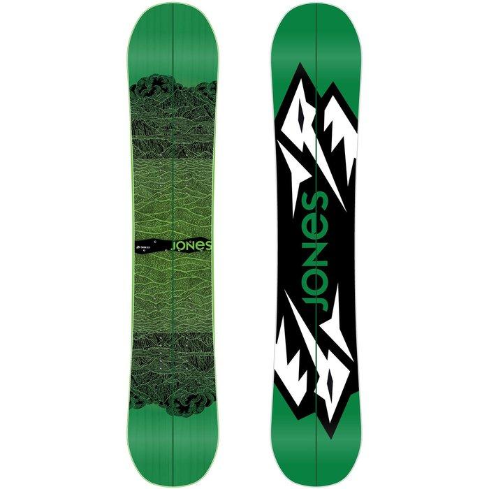 Splitboard od Jones Snowboards - a prašan vás už nepřekvapí! - © http://jonessnowboards.com/