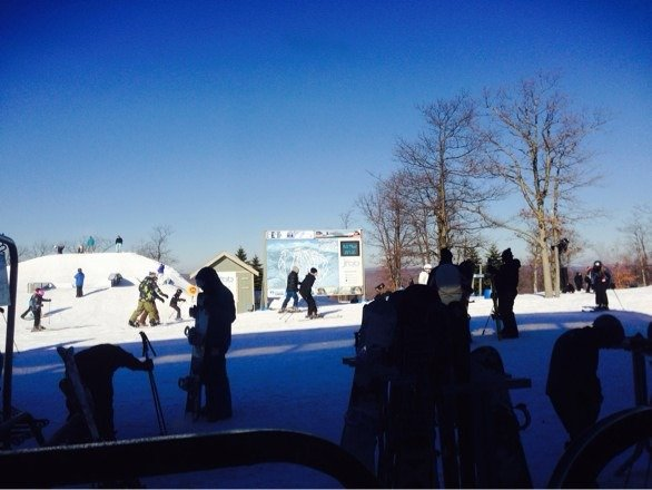 Another awesome day at Jack Frost  super conditions