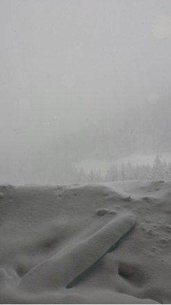 Great snow, no viz