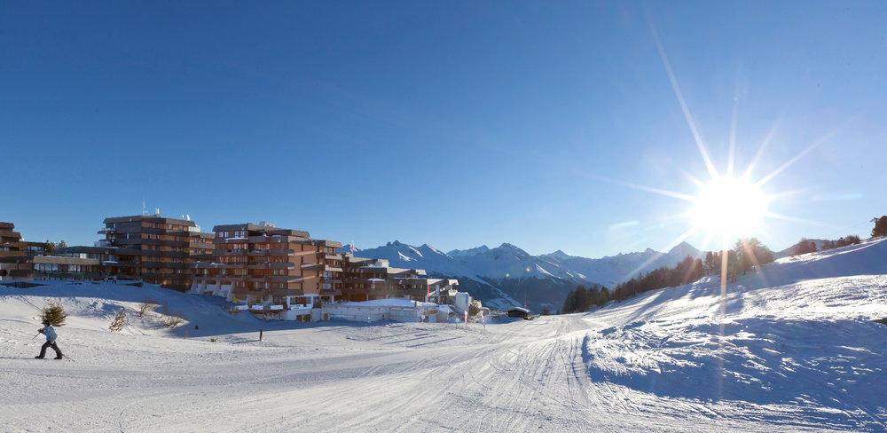 Vue sur la station de ski de Thyon - © Thyon-Région Tourisme