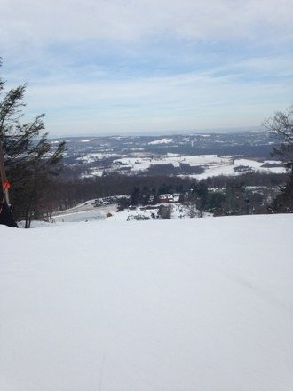 Great day and smooth grooming at Mt Peter!