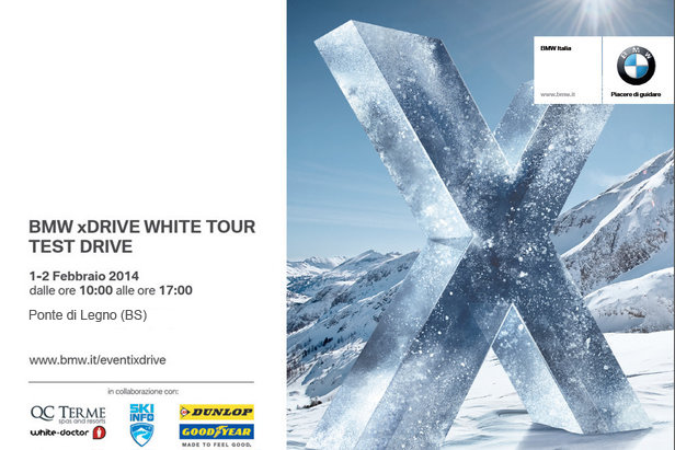 BMW xDrive White Tour - Test Drive a Ponte di Legno - © BMW
