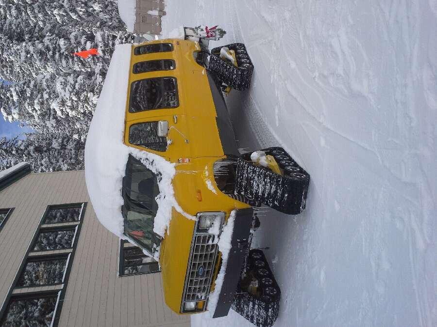 Steep n deep but the family van made it