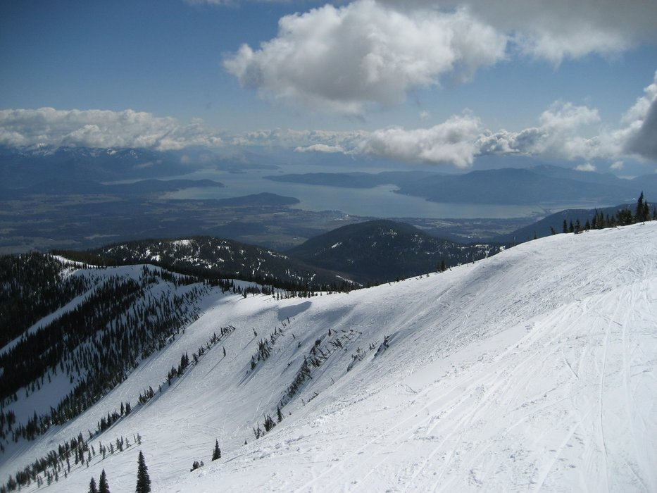 A scenic view of Brundage Mountain, Idaho