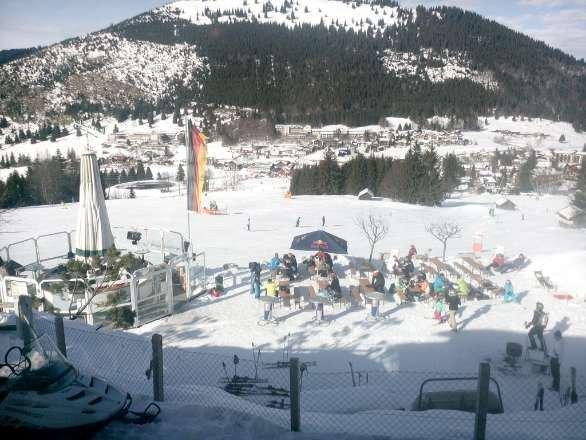 Letztes Wochenende war top Bedingungen in Oberjoch