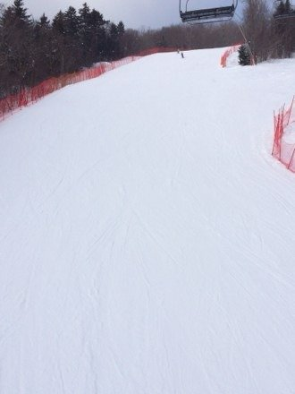 Great conditions in the morning. Skied Chief all morning and coverage was solid. No ice.