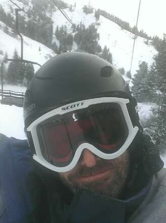 Snowboarding today from 11 a.m. To 7 p.m. Conditions were awesome