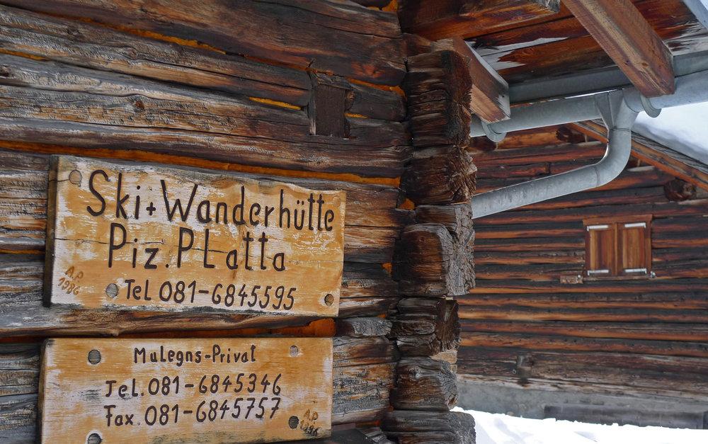 Die Skihütte Piz Platta - kulinarische Highlights garantiert - © SkitourGuru.com