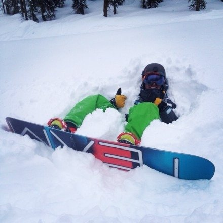 Lets just say we found some Pow! Everywhere!! Was an awesome weekend to board Reve!