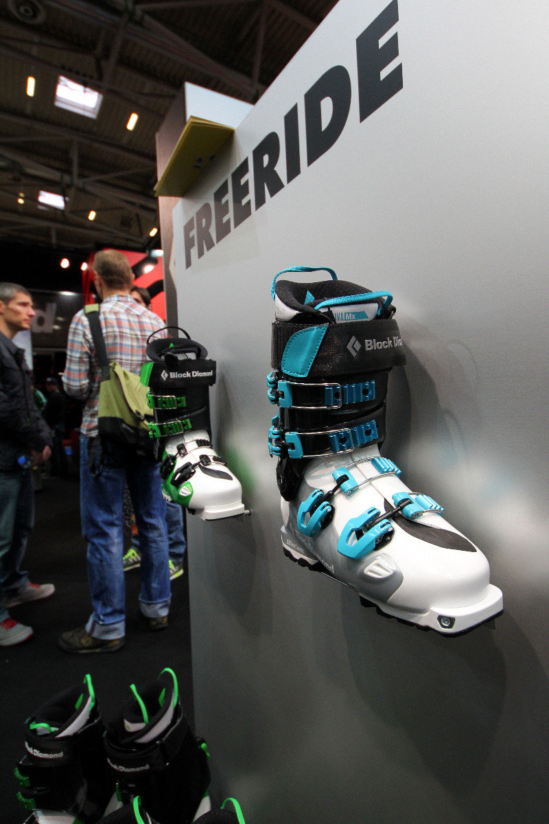 Black Diamond freeride boots - © Skiinfo