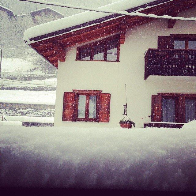 Bormio, Neve fresca 14 Gen 2014