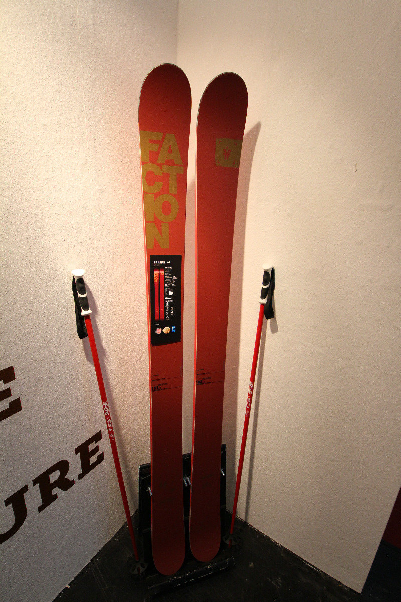 Candide Thovex 4.0 backcountry skis - © Skiinfo