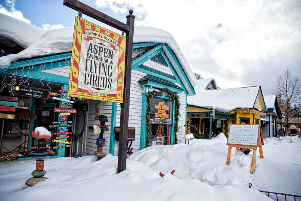 Character is deeply embedded in Aspen's history. - © Liam Doran