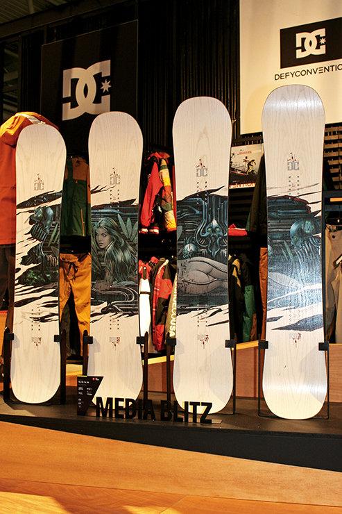 DC Media Blitz Quiver Torstein Horgmo Signature Snowboard - © Stefan Drexl