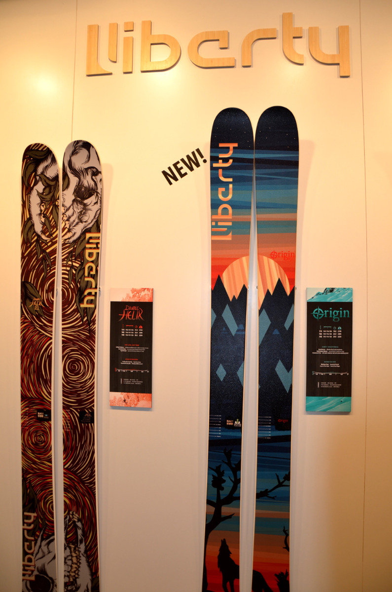 Liberty Skis Origin - © Skiinfo