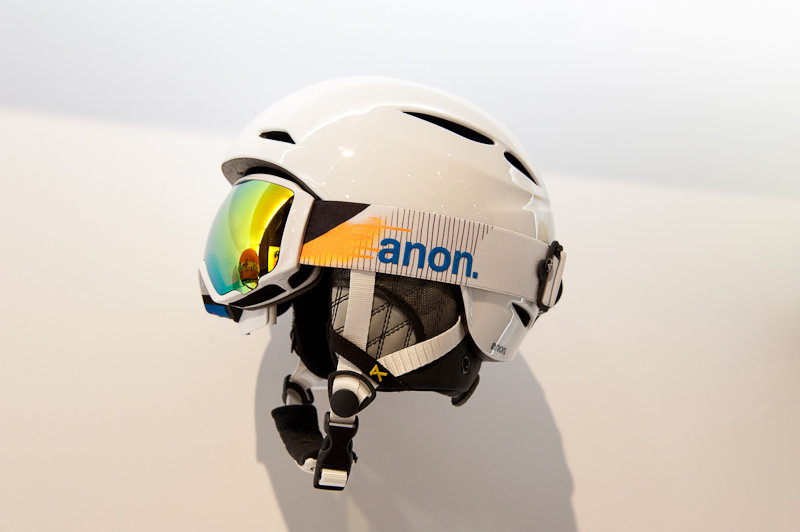 The new anon. women's Keira Helmet features magnetic locking helmet strap and BOA fit system for convenience at every click and turn. - © Ashleigh Miller Photography