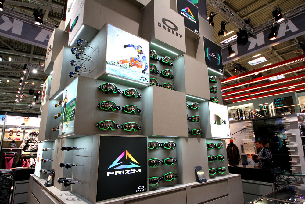Oakley stand at ISPO 2014 - © Skiinfo