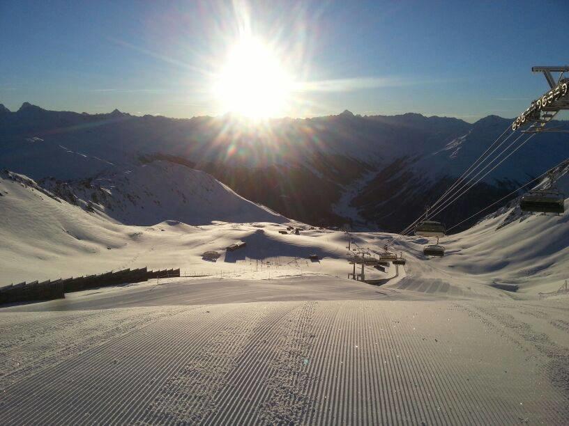 Pefektné podmienky v Davos Klosters, 22.1.2014