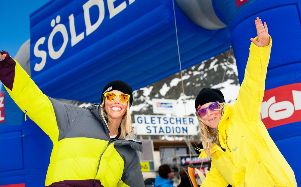 Girls in Sölden (Ötztal) - © Rudi Wyhlidal/Ötztal Tourismus