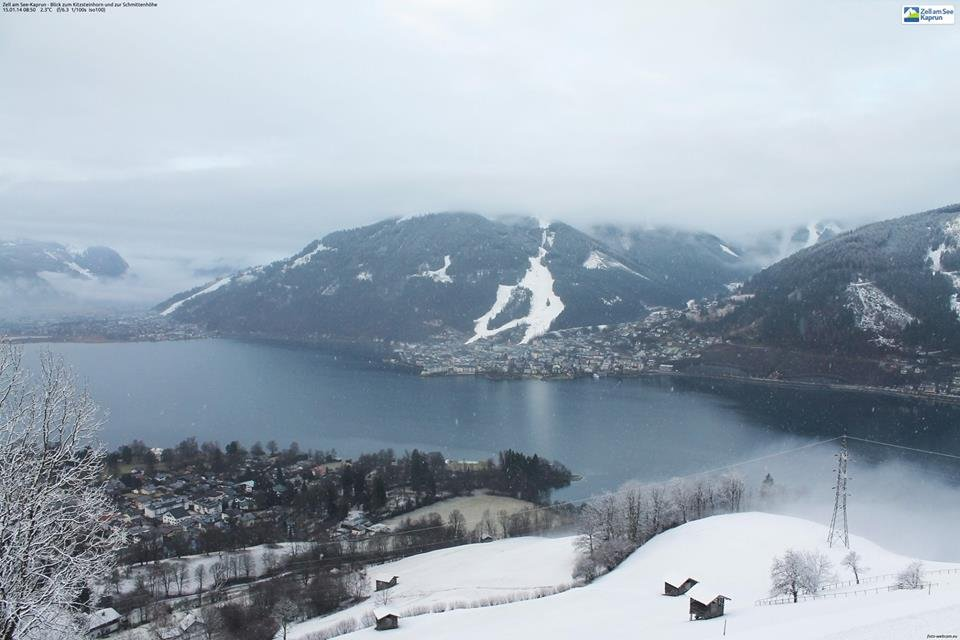 Zell am See op 15 januari 2014