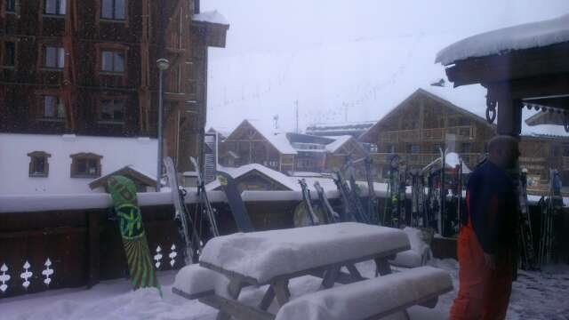 loads if new snow, still falling, and more to come. Hope we get some sun to enjoy it properly!