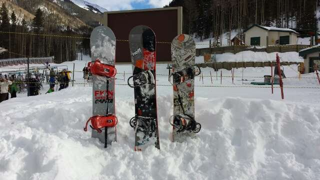 Board meeting at the base of Taos! life is good!